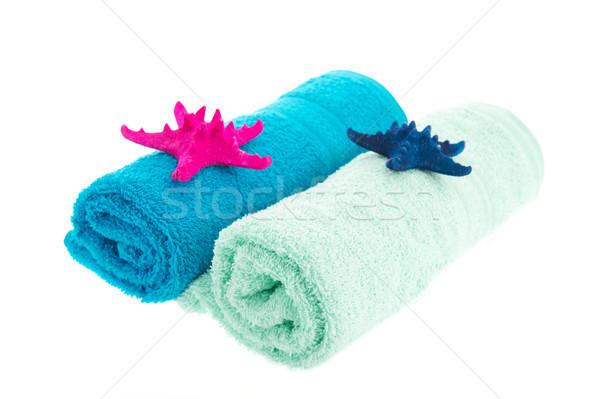 Rolled towels Stock photo © ivonnewierink