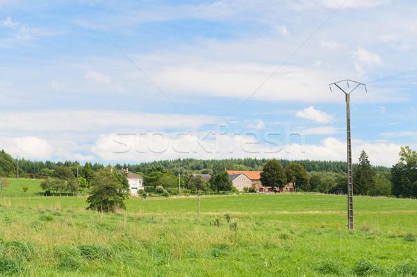 French landscape Stock photo © ivonnewierink