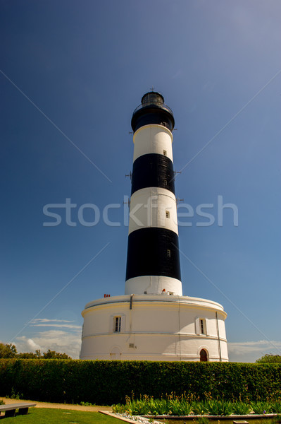 Lighthouse Island Oleron in France Stock photo © ivonnewierink