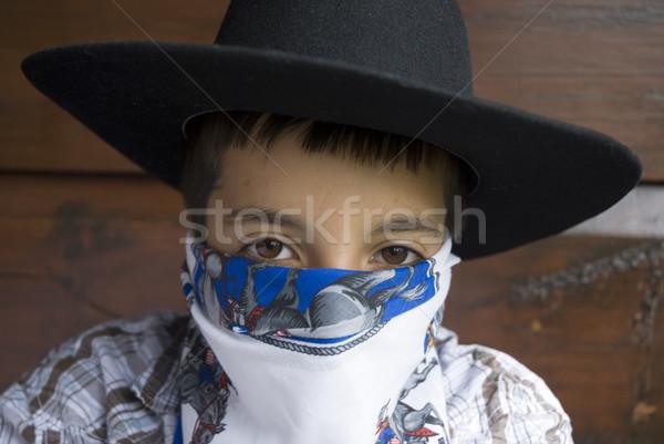 Cowboy-life Stock photo © ivonnewierink