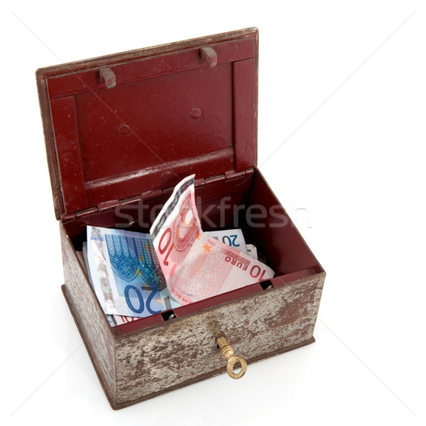 treasure chest with money Stock photo © ivonnewierink