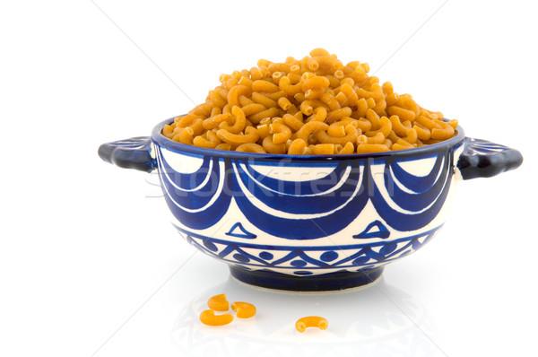 whole meal pasta Stock photo © ivonnewierink