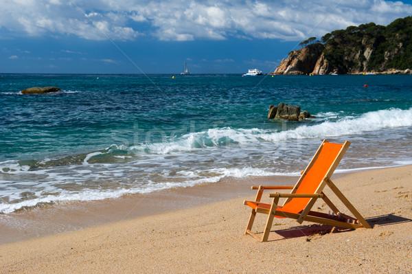 Playa paisaje vacío verano Foto stock © ivonnewierink