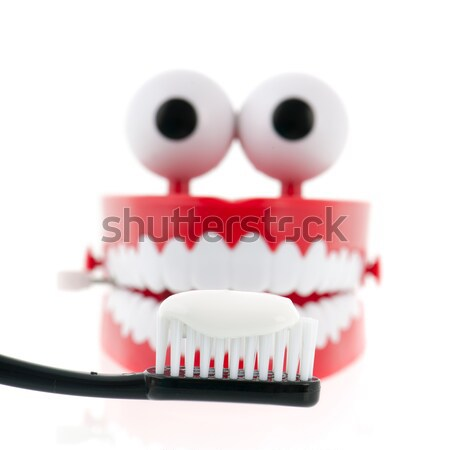 funny denture Stock photo © ivonnewierink