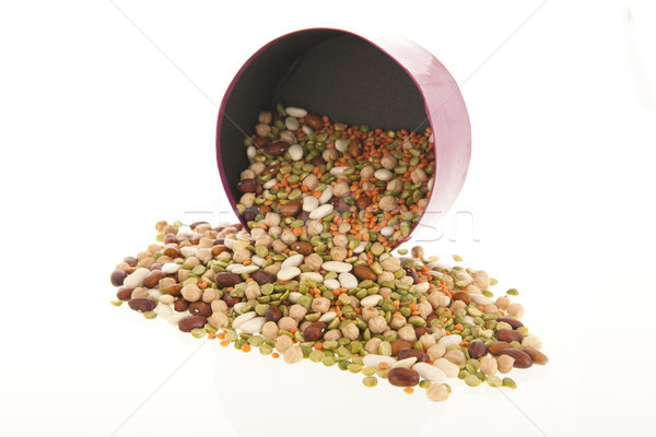 All sort of legumes  Stock photo © ivonnewierink