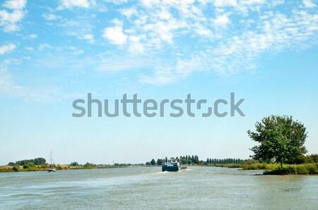 River landscape Stock photo © ivonnewierink