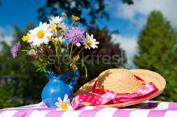 Wild flower bouquet Stock photo © ivonnewierink