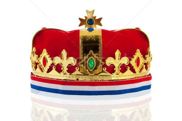 Dutch golden crown for the king Stock photo © ivonnewierink