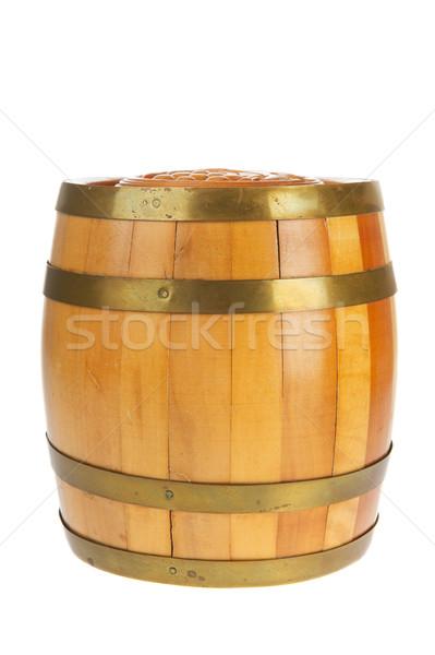 Wooden barrel Stock photo © ivonnewierink