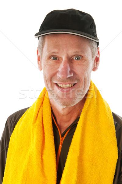 Elderly sport man Stock photo © ivonnewierink