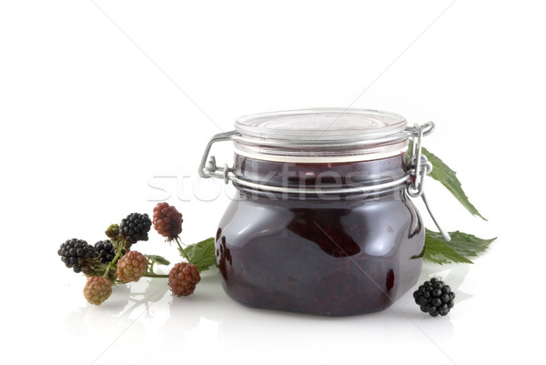 Blackberry jam Stock photo © ivonnewierink