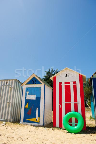 Playa isla Francia colorido verano arena Foto stock © ivonnewierink
