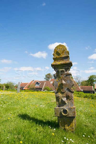 Grave yard at Dutch Terschelling Stock photo © ivonnewierink