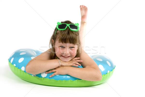 Summergirl Stock photo © ivonnewierink
