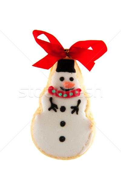 ginger bread snowman Stock photo © ivonnewierink