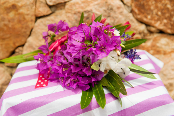 Summer bouquet Stock photo © ivonnewierink