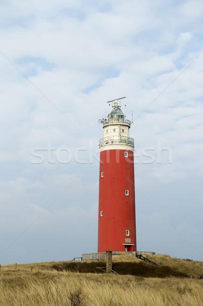Red lighthouse Stock photo © ivonnewierink