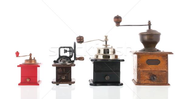 Old coffee grinders Stock photo © ivonnewierink