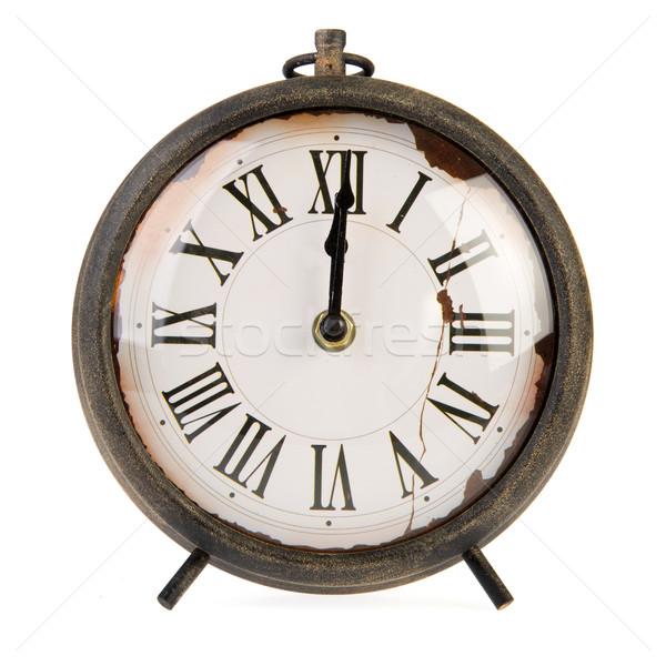 Vintage clock Stock photo © ivonnewierink