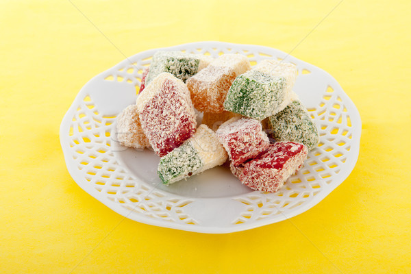 Turkish delight Stock photo © ivonnewierink