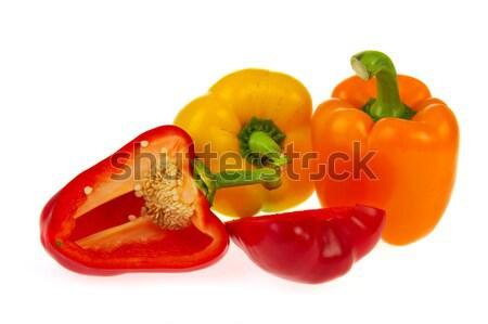 Colorful paprikas Stock photo © ivonnewierink