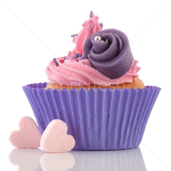 Stockfoto: Roze · snoep · harten