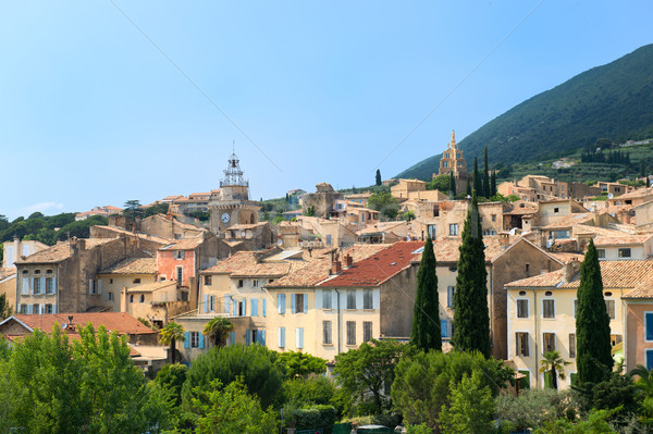 Village Nyons in France Stock photo © ivonnewierink