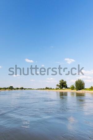 Fluss holland Landschaft Natur Stock foto © ivonnewierink