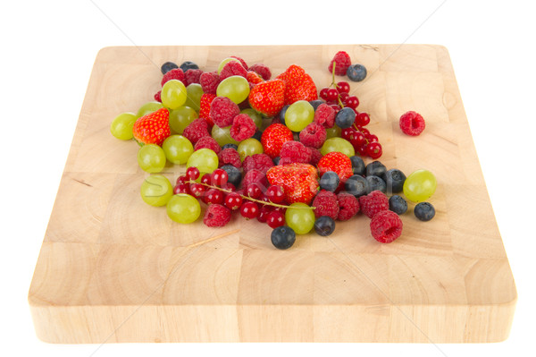 Fresh soft fruit Stock photo © ivonnewierink
