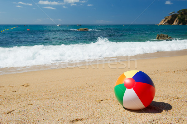 Beach ball Stock photo © ivonnewierink