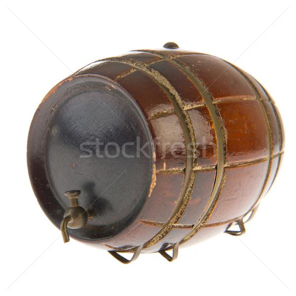 Old wine barrel Stock photo © ivonnewierink