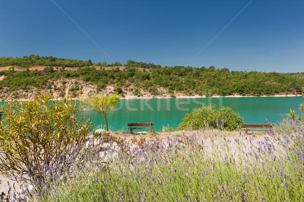 Stock photo: Romantic lake