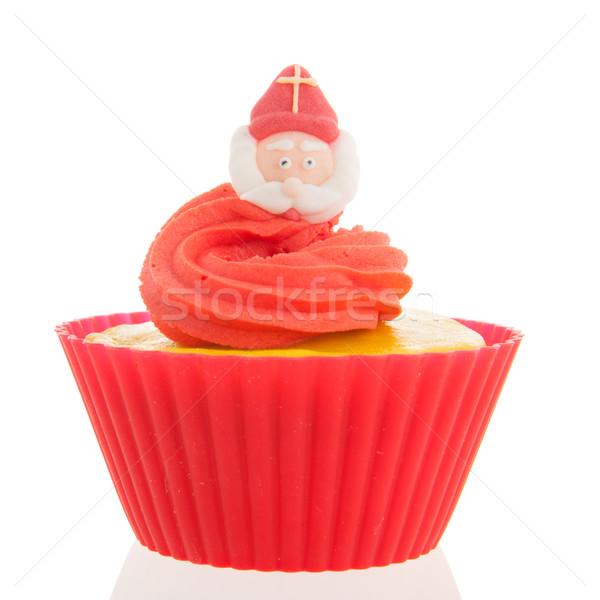 Dutch Sinterklaas cupcake Stock photo © ivonnewierink