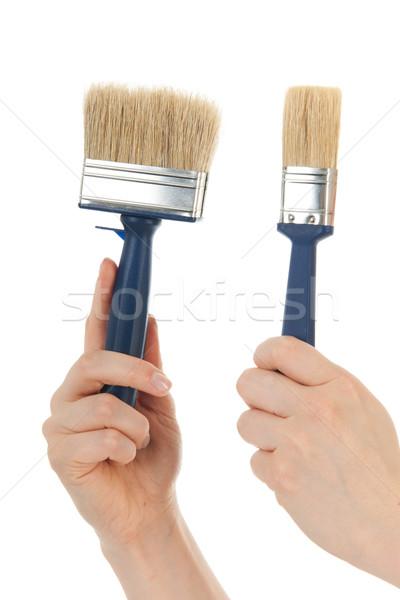 Paint brushes Stock photo © ivonnewierink