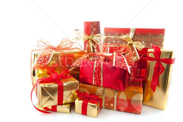 Many christmas presents Stock photo © ivonnewierink