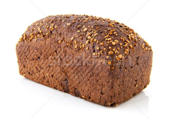 Whole brown bread Stock photo © ivonnewierink