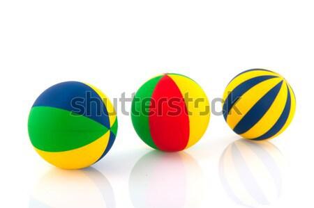 colorful balls Stock photo © ivonnewierink