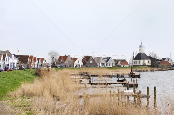 Small typical Dutch village Stock photo © ivonnewierink