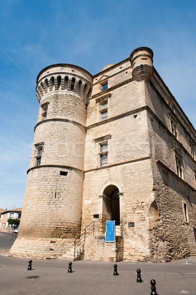 Castle in Gordes Stock photo © ivonnewierink