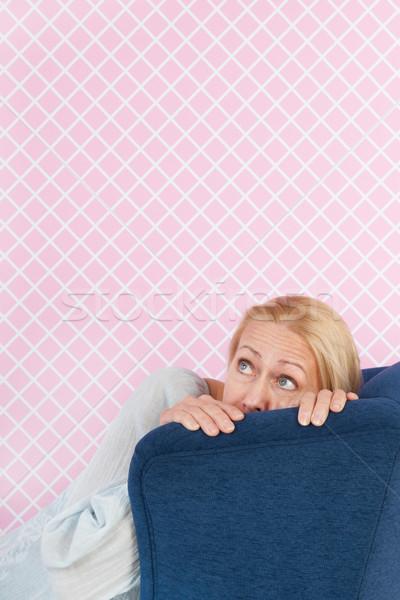страхом Председатель женщину зрелый возраст Сток-фото © ivonnewierink