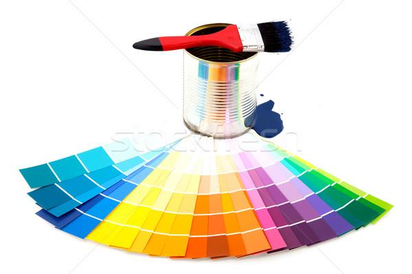 painting Stock photo © ivonnewierink