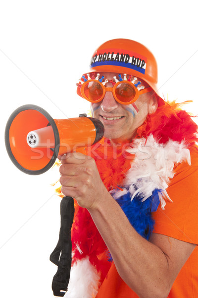 Dutch soccer supporter Stock photo © ivonnewierink
