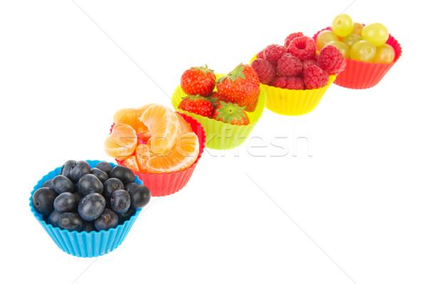 Fresh assortment fruit Stock photo © ivonnewierink