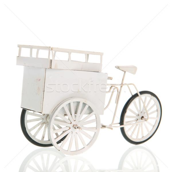 White transport bike Stock photo © ivonnewierink