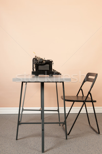 Antique typewriter Stock photo © ivonnewierink