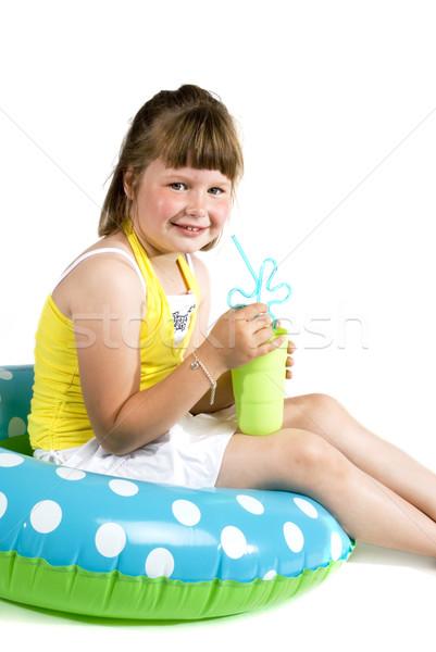 Summer girl Stock photo © ivonnewierink