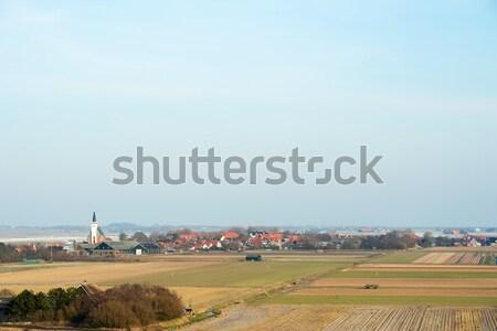 Village Den Hoorn on Texel Stock photo © ivonnewierink