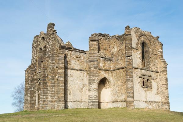 Chapel Notre-Dame de bon secours Stock photo © ivonnewierink