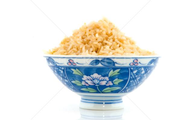 Brown rice Stock photo © ivonnewierink
