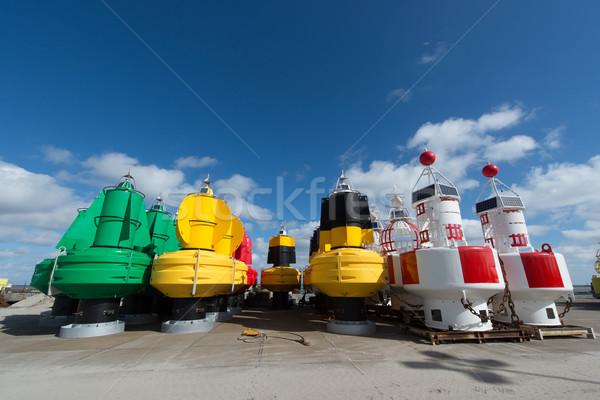 Drogen kleurrijk voorraad nederlands eiland energie Stockfoto © ivonnewierink